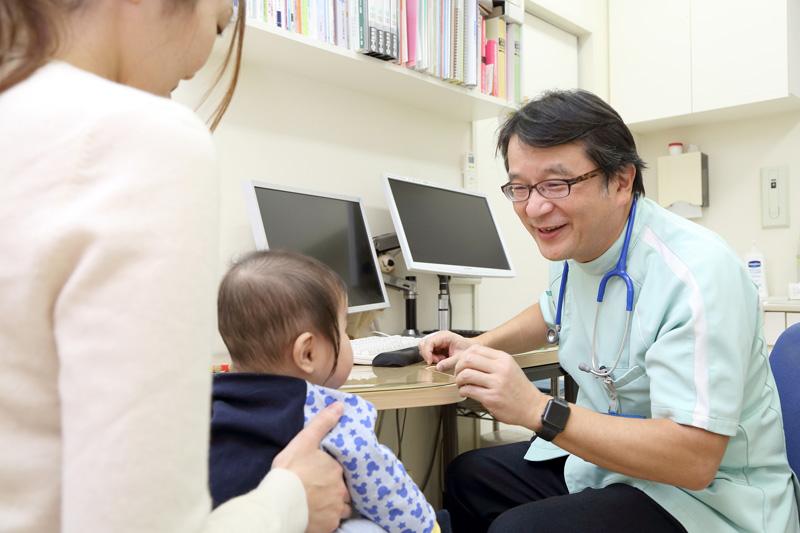 小児診療の幅広い経験